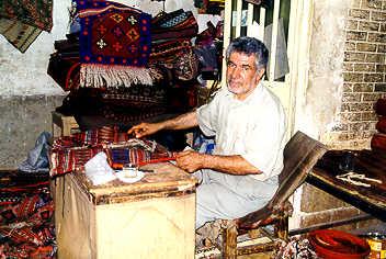 The rug repairshop