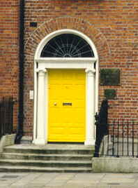 A door in Dublin