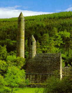 Glendalough when it's not raining