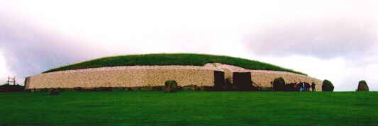 Newgrange with just a little more colour