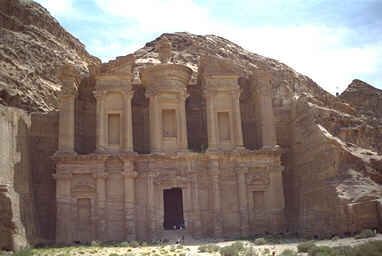 Ed Deir is the largest temple