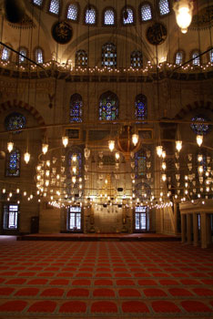 Pictures of the Süleyman Mosque in Istanbul - Turkey